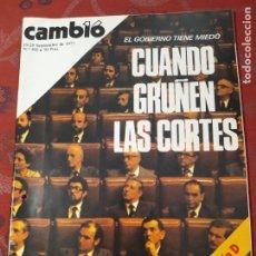 Coleccionismo de Revista Cambio 16: REVISTA CAMBIO 16 N° 302. Lote 222195830