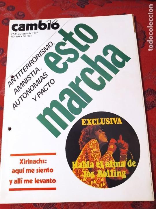 REVISTA CAMBIO 16 N° 306 (Coleccionismo - Revistas y Periódicos Modernos (a partir de 1.940) - Revista Cambio 16)