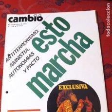 Coleccionismo de Revista Cambio 16: REVISTA CAMBIO 16 N° 306. Lote 222196301