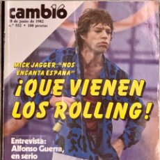 Coleccionismo de Revista Cambio 16: CAMBIO16. Nº 552. 28 JUNIO 1982.. Lote 226094357