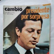 Coleccionismo de Revista Cambio 16: REVISTA CAMBIO 16 N 240 JULIO 1976 ADOLFO SUÁREZ. Lote 226150005