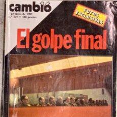 Coleccionismo de Revista Cambio 16: CAMBIO16. Nº 549. 7 JUNIO 1982.. Lote 226837230