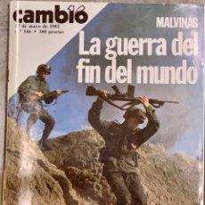 Coleccionismo de Revista Cambio 16: CAMBIO16. Nº 546. 17 MAYO 1982.. Lote 227590630