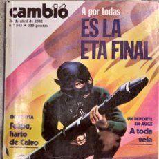 Coleccionismo de Revista Cambio 16: CAMBIO16. Nº 543. 26 ABRIL 1982.. Lote 227998020