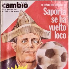Coleccionismo de Revista Cambio 16: CAMBIO16. Nº 542. 19 ABRIL 1982.. Lote 228146445