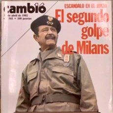 Coleccionismo de Revista Cambio 16: CAMBIO16. Nº 541. 12 ABRIL 1982.. Lote 228302065