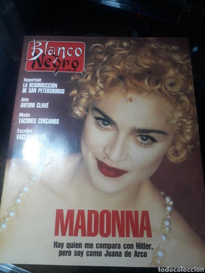 REVISTA BLANCO Y NEGRO N°3756. 23 JUNIO 1991 MADONNA . (Coleccionismo - Revistas y Periódicos Modernos (a partir de 1.940) - Revista Cambio 16)