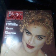 Coleccionismo de Revista Cambio 16: REVISTA BLANCO Y NEGRO N°3756. 23 JUNIO 1991 MADONNA .. Lote 235090975