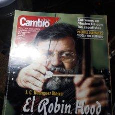 Coleccionismo de Revista Cambio 16: REVISTA CAMBIO16 N° 1529 .26 MARZO 2001 EL ROBIN HOOD DE EXTREMADURA .J.C RODRÍGUEZ IBARRA .. Lote 235325515