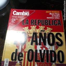 Coleccionismo de Revista Cambio 16: REVISTA CAMBIO16 N° 1532 .16 ABRIL 2001. LA REPÚBLICA 70 AÑOS DE OLVIDO.. Lote 235328735