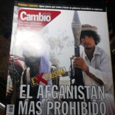 Coleccionismo de Revista Cambio 16: REVISTA CAMBIO16 N° 1533.23 ABRIL 2001 EL AFGANISTÁN MAS PROHIBIDO.. Lote 235329765