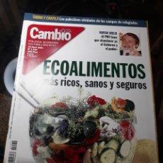 Coleccionismo de Revista Cambio 16: REVISTA CAMBIO16 N° 1534 . 30 ABRIL 2001 . ECOALIMENTOS , MAS RICOS , SANOS Y SEGUROS. Lote 235332210