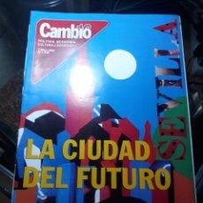 Coleccionismo de Revista Cambio 16: REVISTA CAMBIO16 N° 1535 . 7 MAYO 2001 . SEVILLA , LA CIUDAD DEL FUTURO.. Lote 235332740