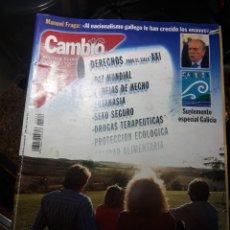 Coleccionismo de Revista Cambio 16: REVISTA CAMBIO16 N° 1540 . 11 JUNIO 2001 DERECHOS PARA EL SIGLO XXI .. Lote 235340485