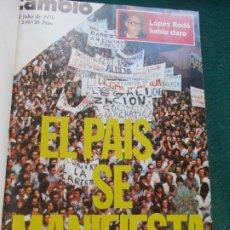 Coleccionismo de Revista Cambio 16: LOTE REVISTAS ENCUADERNADAS DE CAMBIO 16 DE JULIO A SEPTIEMBRE DE 1976. Lote 243352080