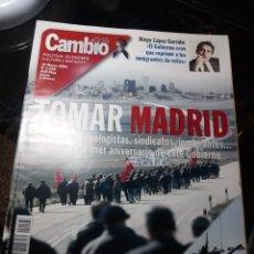 Coleccionismo de Revista Cambio 16: REVISTA CAMBIO16 N° 1528 19 MARZO 2001 . TOMAR MADRID . .SAHARA PREPARADOS PARA LA GUERRA. Lote 243941855