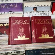 Coleccionismo de Revista Cambio 16: ENCUADERNACION PARA HISTORIA UNIVERSAL,CAMBIO 16,TOMO 5 Y 3. Lote 245058815