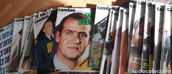Coleccionismo de Revista Cambio 16: 44 números de Revista Cambio 16 año 1975 - Foto 5 - 245558895