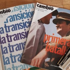 Coleccionismo de Revista Cambio 16: REVISTA CAMBIO 16 AÑO 1975. Lote 245558895