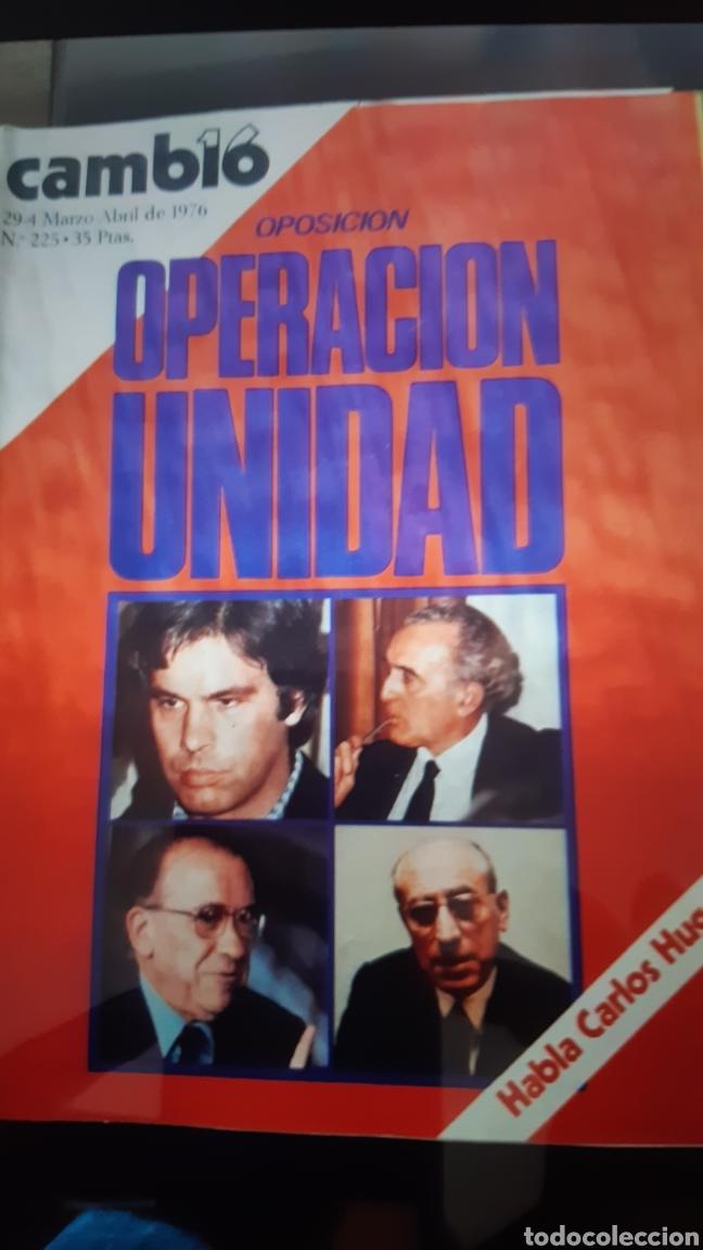 Coleccionismo de Revista Cambio 16: 32 ejemplares Revista Cambio 16 año 1976 - Foto 7 - 245561245