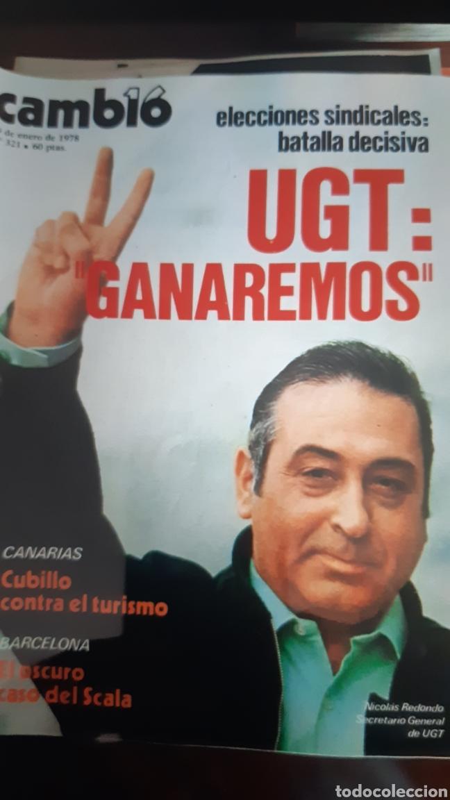 Coleccionismo de Revista Cambio 16: 12 ejemplares Revista Cambio 16 año 1978 - Foto 3 - 245562785