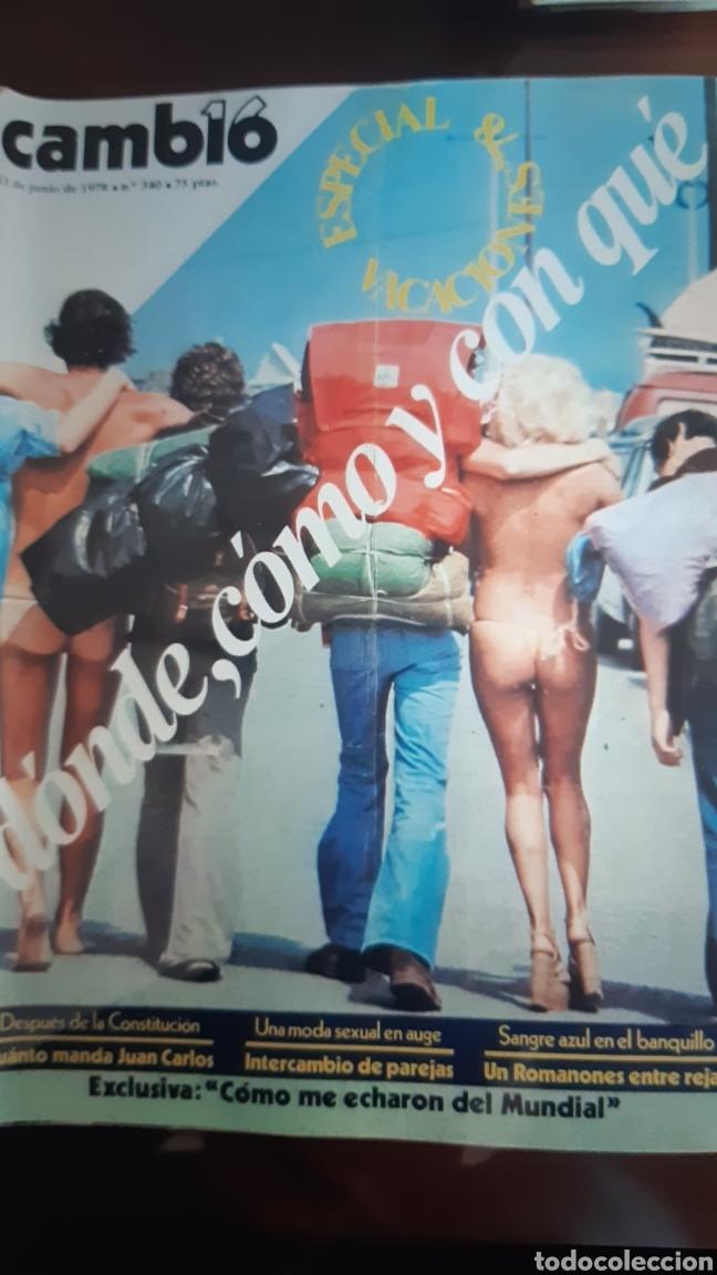 Coleccionismo de Revista Cambio 16: 12 ejemplares Revista Cambio 16 año 1978 - Foto 5 - 245562785