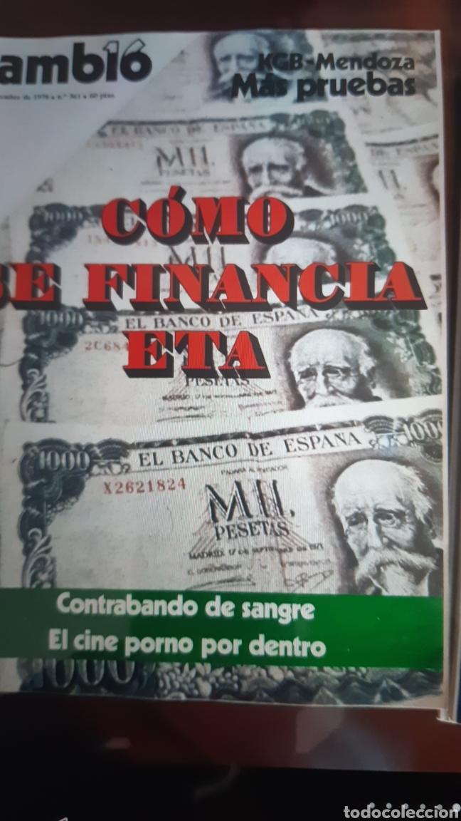Coleccionismo de Revista Cambio 16: 12 ejemplares Revista Cambio 16 año 1978 - Foto 6 - 245562785