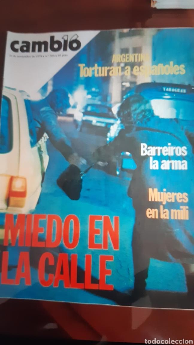 Coleccionismo de Revista Cambio 16: 12 ejemplares Revista Cambio 16 año 1978 - Foto 7 - 245562785