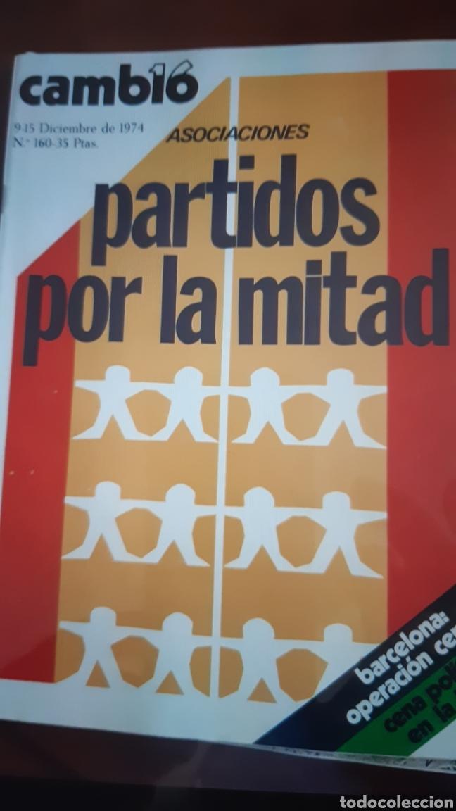 Coleccionismo de Revista Cambio 16: 5 ejemplares Revista Cambio 16 año 1974 - Foto 4 - 245564130