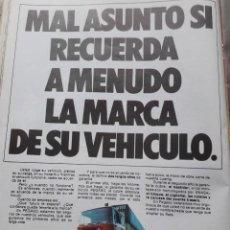 Coleccionismo de Revista Cambio 16: PUBLICIDAD. ANUNCIO DE CAMIONES PEGASO. EXTRAIDO DE CAMBIO 16, 1975. Lote 246133700