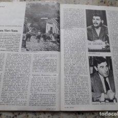 Coleccionismo de Revista Cambio 16: JUNTA DE COORDINACION REVOLUCIONARIA DE GUERRILLAS LATINOAMERICANAS.4 PAGS.RECORTE DE CAMBIO 16,1975. Lote 246136505