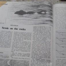 Coleccionismo de Revista Cambio 16: TEORIAS SOBRE EL MONSTRUO DEL LAGO NESS. RECORTE DE CAMBIO 16,DICIEMBRE 1975. Lote 246164450
