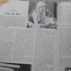 Coleccionismo de Revista Cambio 16: I CONGRESO DE PROSTITUTAS FRANCESAS, AÑO INTERNACIONALDE LA MUJER. RECORTE CAMBIO 16, DICIEMBRE 1975. Lote 246208090