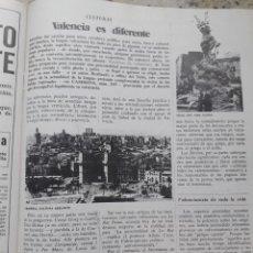 Coleccionismo de Revista Cambio 16: VALENCIA. POLEMICA POR LA LENGUA VALENCIANA. RECORTE CAMBIO 16, DICIEMBRE 1975. Lote 246208590