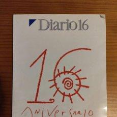 Coleccionismo de Revista Cambio 16: ANIVERSARIO 16 AÑOS DIARIO 16. Lote 246330560