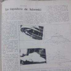 Coleccionismo de Revista Cambio 16: SINPOSIUM SOBRE OVNIS EN GRENOBLE. RECORTE CAMBIO 16 NOVIEMBRE 1975. Lote 246567375
