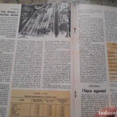 Collezionismo di Rivista Cambio 16: ENSIDESA REDUCE SU PLANTILLA. RECORTE CAMBIO 16 OCTUBRE 1975. Lote 246622030