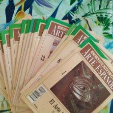 Coleccionismo de Revista Cambio 16: CUADERNOS DE ARTE ESPAÑOL, LOTE 16 NÚMEROS. Lote 252857105