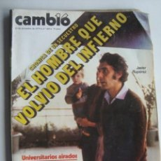 Coleccionismo de Revista Cambio 16: CAMBIO 16 Nº 420 (23/12/1979). JAVIER RUPÉREZ (UCD) / PAUL MCCARTNEY / JOMEINI / GUINEA ECUATORIAL. Lote 254675860