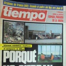 Coleccionismo de Revista Cambio 16: REVISTA TIEMPO DE HOY Nº 147. PORQUÉ NO CIERRAN SONDICA. ESPAÑA, PARAISO DE LA MAFIA. MARZO 1985. Lote 262253845