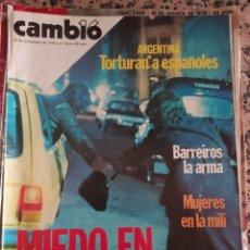 Coleccionismo de Revista Cambio 16: REVISTA CAMBIO 16 AÑO 1978. Lote 263673810