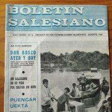 Coleccionismo de Revista Cambio 16: BOLETIN SALESIANO AGOSTO 1968- REVISTA RELIGIOSA- DON BOSCO SALAMANCA- MARIA AUXILIADORA- ORINOCO MI. Lote 270590943