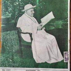 Coleccionismo de Revista Cambio 16: BOLETIN SALESIANO NOVIEMBRE 1961- JUAN PABLO XXIII- MISIONEROS EN ASSAM- DON BOSCO- ANTONIO CANDELA.. Lote 270591463