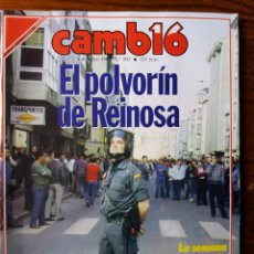 Coleccionismo de Revista Cambio 16: REVISTA CAMBIO 16. Lote 276130293
