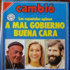 Coleccionismo de Revista Cambio 16: REVISTA CAMBIO 16 AÑO 1987. Lote 276130683