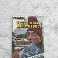 Coleccionismo de Revista Cambio 16: CAMBIO 16 - 1980 - SALVADOR DALI, CAROLINA KENNEDY, JACKIE KENNEDY, JOHN TRAVOLTA. Lote 277255778