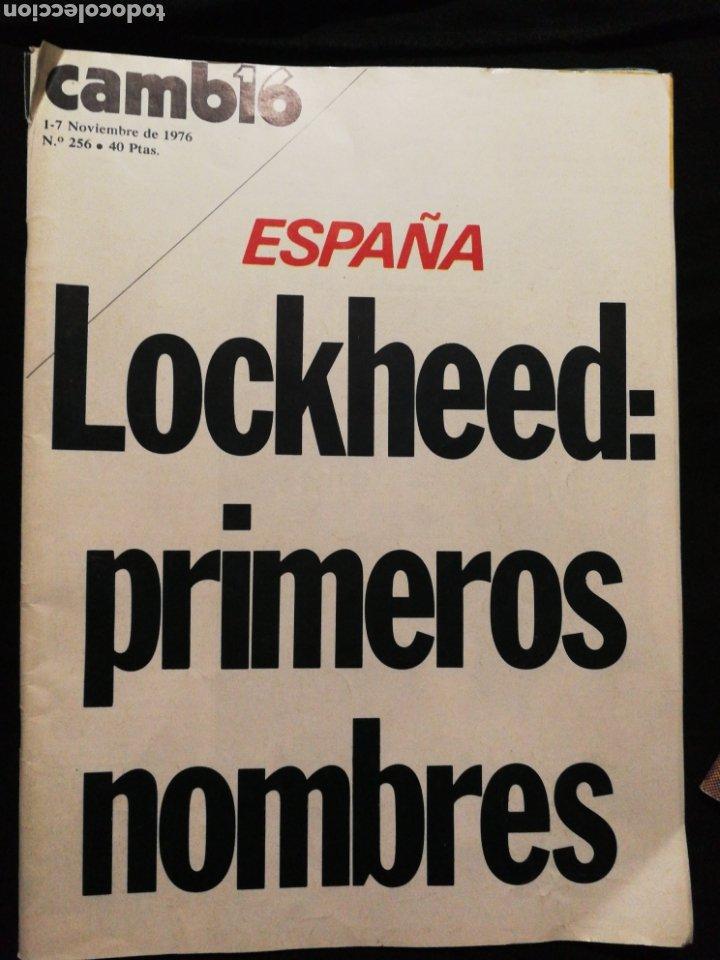 REVISTA CAMBIO 16,AÑO 1976 (Coleccionismo - Revistas y Periódicos Modernos (a partir de 1.940) - Revista Cambio 16)