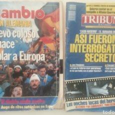 Coleccionismo de Revista Cambio 16: CAMBIO16 N° 958. TRIBUNA N° 107. AÑO 1990. Lote 279498953