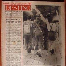 Coleccionismo de Revista Destino: PERIÓDICO DESTINO, CON NOTÍCIAS DE LA 2ª GUERRA MUNDIAL. Lote 10589573