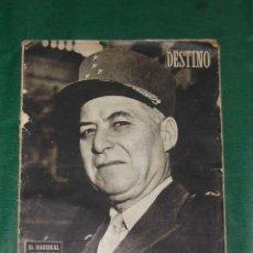 Coleccionismo de Revista Destino: REVISTA DESTINO N.793 DEL 18 OCTUBRE 1952. Lote 3490749